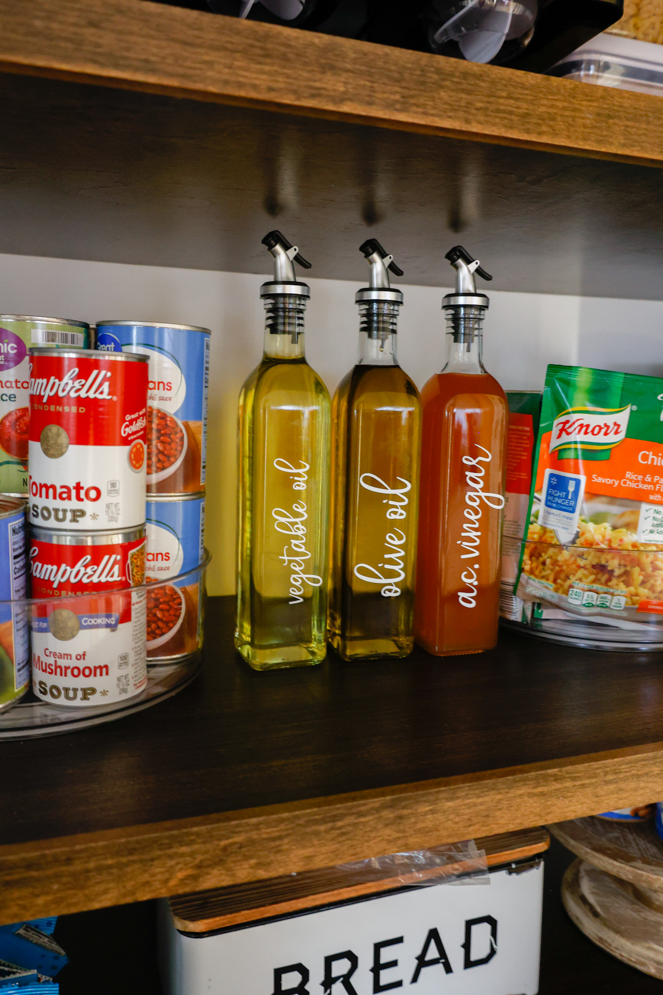 cabinet organization ideas for pantry items