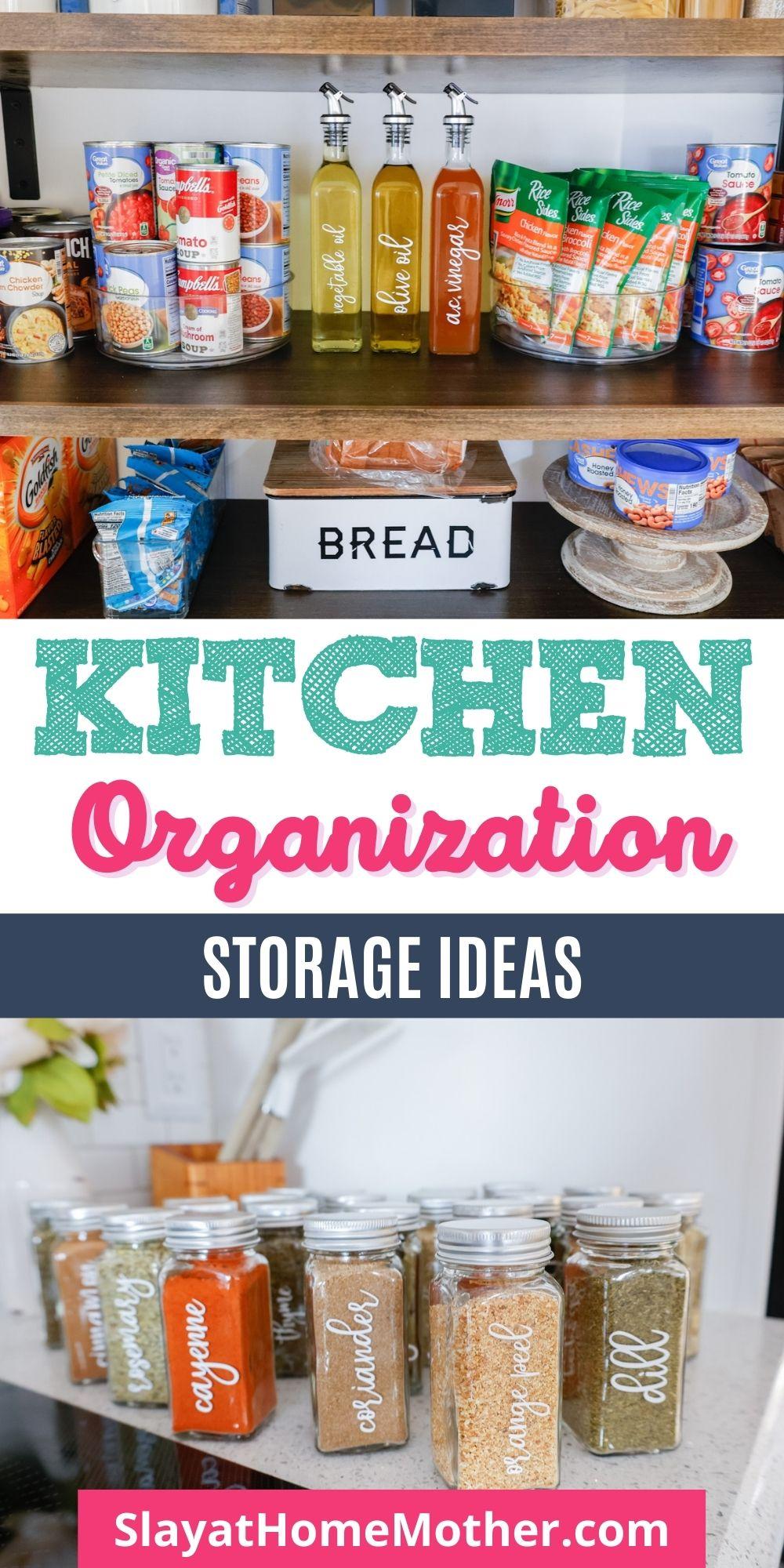 kitchen organization storage ideas